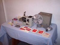 Vintage Cine 8 Film Projector Eumig Imperial P8M in Hard Case with Manual and Accessories VGC