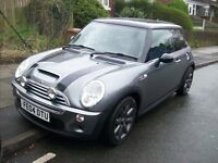 mini cooper s super charge 2004 full stamped history jhon works stainless exhaust nice car px