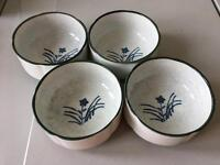 Japanese style bowls