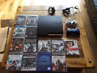 Sony PlayStation PS3 slimline 250gb 13 games