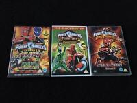 Power Rangers DVDs