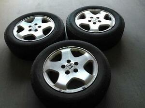 Honda OEM rims with michelin hydroedge tires
