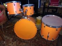 Drum Kit (Bright Orange)