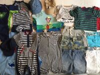 Baby boy (9-18 months) summer/holiday wardrobe bundle including protective sun/swimwear