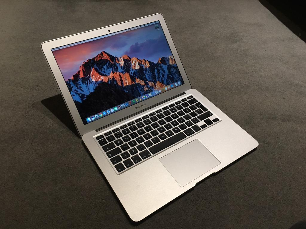 "APPLE MACBOOK AIR 13"" 2014-15 1.4GHZ I5 256GB SSD 4GB RAM SOFTWARE"