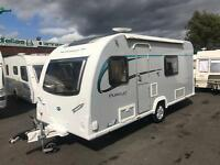 2014 BAILEY PURSUIT 430/4 *FIXED BED* SINGLE AXLE LIGHTWEIGHT 4 BERTH TOURING CARAVAN & EXTRAS