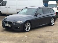 BMW 318d M Sport, manual, Immaculate Red Leather