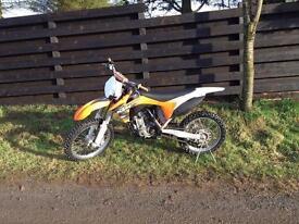 KTM 250 SXF 2011 EFI