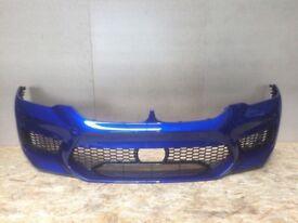 Orginal Front Bumper BMW F90 G30 M5 USA Marina Bay Blue Met