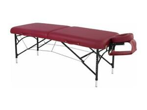 Table de massage aluminium portable 28'' NATURA **189.99**