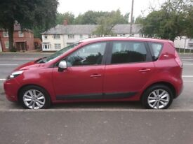 Renault Scenic I-music 1.5 dci, 2010 reg, Red Lovely Condition