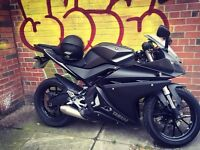 Yamaha r125 2015 ABS, Excellent condition, Lots of extras: LeoVince exhaust, Alarm, Tail tidy +more