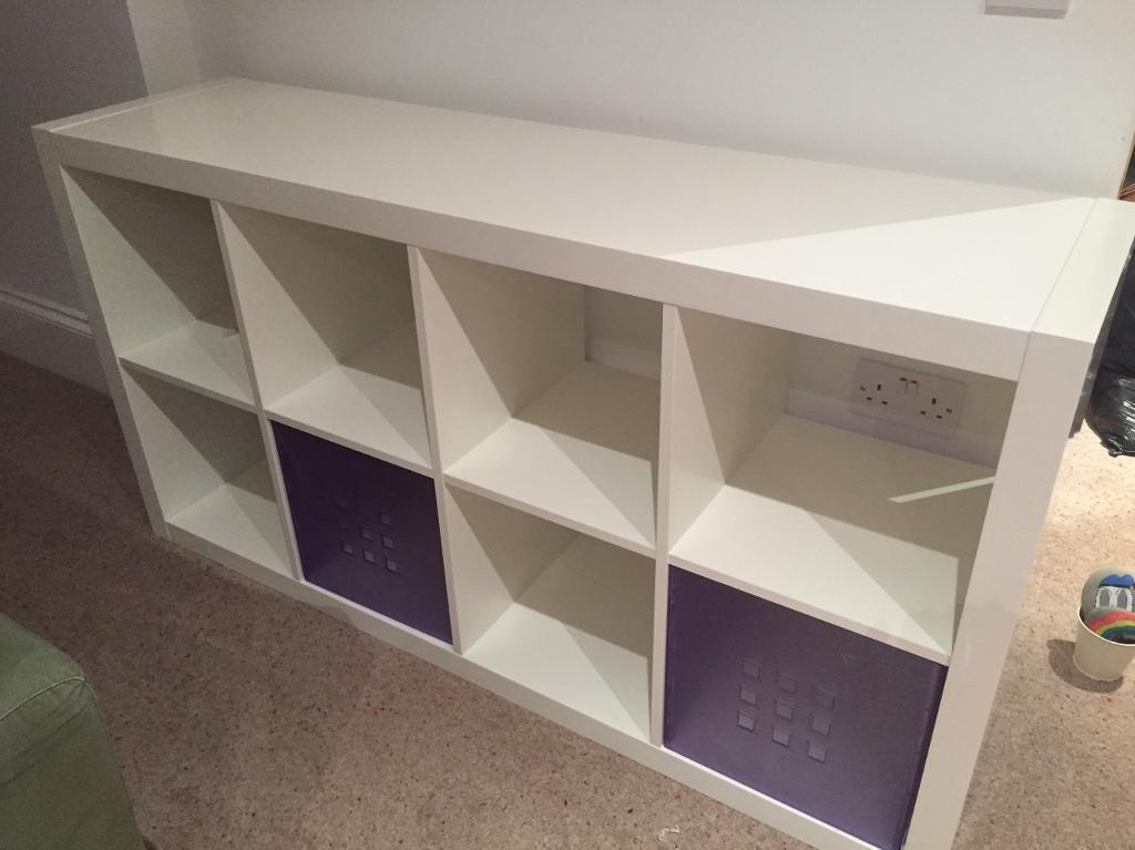 Ikea Kallax Square Box Storage Unit Sold