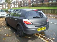 2005 VAUXHALL ASTRA LIFE CDTI MAT BLACK 120K MILES FULL HISTORY NICE DRIVE starts first time