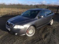 2009 09 SKODA OCTAVIA 1.9 TDI CR VRS 5 DOOR HATCHBACK, 6 SPEED MANUAL - *ONLY 2 FORMER KEEPERS*