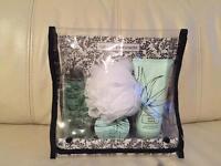Brand New M&S aloe vera bath set