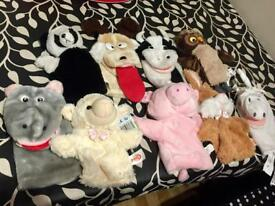 Hand Puppets Bundle *most sold STC*