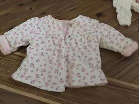 Newborn baby girl clothing bundle