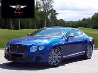 Bentley continental GT W12 speed Carbon edition!!! Available for hire !!!