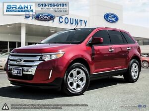 2011 Ford Edge SEL - LEATHER, ROOF, CLEAN CARPROOF!