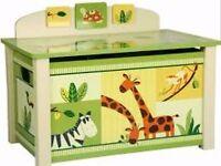 Animal/Jungle themed toybox