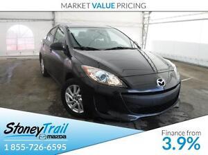 2013 Mazda Mazda3 GS-SKY - HEATED SEATS! AUTO LIGHTS & WIPERS!