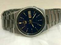Vintage retro 1970s seiko gents automatic watch
