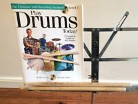 Wokingham Drum Sales - Drum Tuition Book With Play Along CD