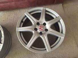 Honda. Tyre R Alloys. Fn2