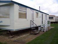 static caravan to hire rent let 3 bed 8 berth on sealands caravan park ingoldmel