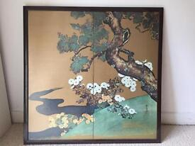 Chinese lacquer picture