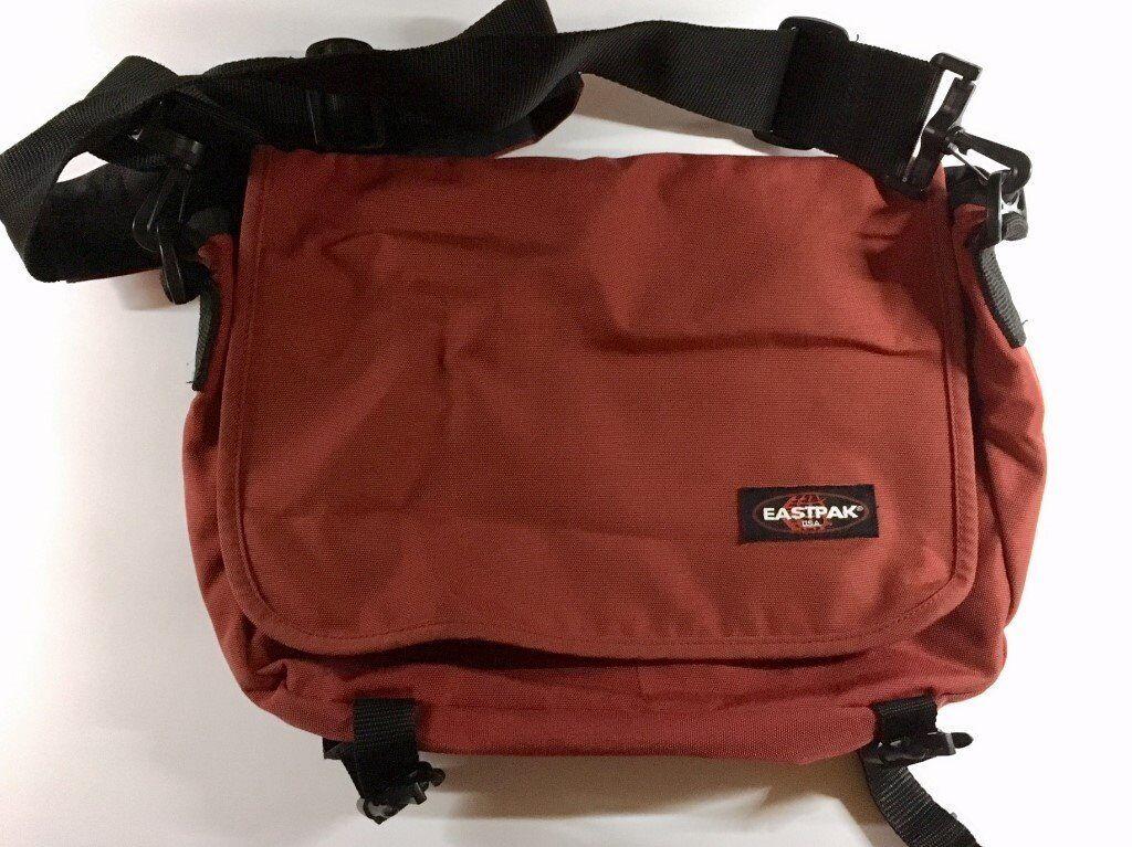 3a89507db7fd Eastpak Junior Messenger Bag in Red.