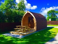 Glamping Pod hire @ Maustin Park