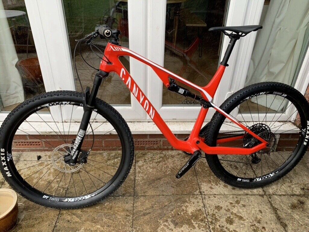 Canyon Lux dual suspension XC MTB | in Dinas Powys, Vale of Glamorgan |  Gumtree