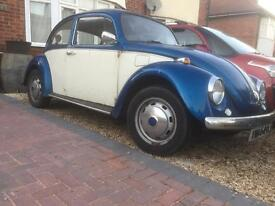 Classic VW beetle. - 1971 - Tax exempt - 12 months MOT - New Engine