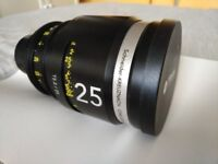 Schneider cine lens 25mm