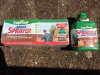 Brand new Cuprinol Sprayer and 5 litre Cuprinol wood stain