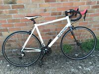 B'twin Triban 3 White Men's Road Bike, Immaculate Condition, Size 60cm