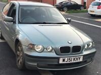 BMW 316TI - 101,000 miles - £550 OVNO