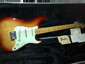 1983 Vintage Fender Dan Smith Stratocaster. USA. Incredible Collectors Condition