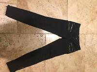 ZARA Black jeans size 10