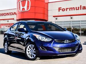 2013 Hyundai Elantra L- One of Hyundai's popular models. See it