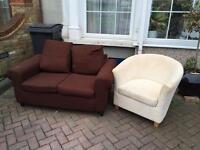 Free Sofa & tub chair