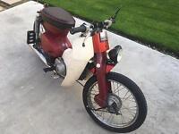 Honda C90 cub scooter motorcycle
