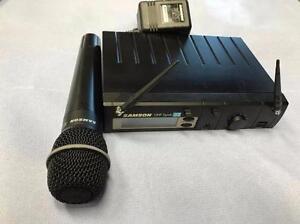MICROPHONE SANS FIL * SAMSON UHF Synth 32 * USAGER * EXCELLENT ÉTAT * PRIX À DÉBARRASSER