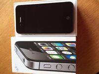 Apple iPhone 4s - 8GB- Black (EE, Orange, T-Mobile) Smartphone