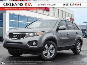 2013 Kia Sorento EX V6 AWD Leather Warranty to February 2018!
