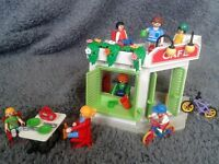 Playmobil Beach Side Cafe Set With 7 Figures (Ideal Gift)