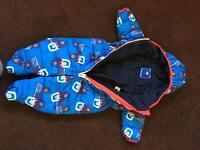 Boys 6-9 month outdoor suit