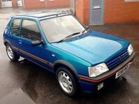Lovely Low Mileage 205 1.9 GTI, 165BHP and 150lbft Torque (See Photo), Lots of Work, Not Standard